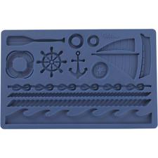 Nautical - Navy Sea Wilton Fondant & Gum Paste Mold Silicone Mould