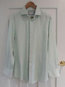 Charles Tyrwhitt Slim Fit 16/33 Stripe Shirt