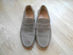 RUSSELL & BROMLEY  LONDON  HAND MADE SUEDE CASUAL SHOES  SIZE UK 8.5  VGC