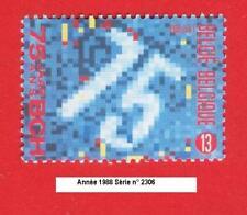 Année 1988, 75e anniversaire de l'office des chèques Postaux N° 2306