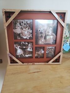 Disney Parks Mickey Mouse Icon  5 Square Picture Frame Collage NEW