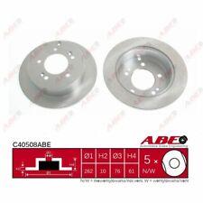 Bremsscheibe, 1 Stück ABE C40508ABE