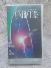STAR TREK GENERATIONS(C&C No RFM 1417)VHS TAPE PG(LIKE NEW)