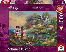Schmidt  Thomas Kinkade Disney Mickey Mouse Jigsaw Puzzle, 1000 Pieces