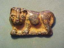 Bactrian stone amulet, circa 1st millennium BC