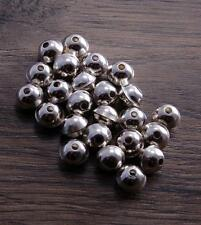 Sterling Silver Bench Made Beads 7mm (pack of 10 beads) DB2H-7