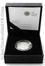2010 Cities of UK Belfast Piedfort £1 One Pound Silver Proof Coin - COA