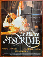 Plakat Le Maitre Fechten Pedro Olea Miguel Rellan Assumpta Serna 120x160cm
