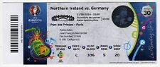 Ticket EM 2016 #30 Northern Ireland - Germany