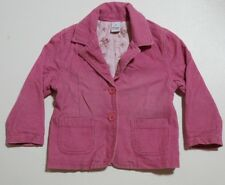 Size 4 Girls Jumper/ Jacket Target Pink Button Collar Cotton Lined
