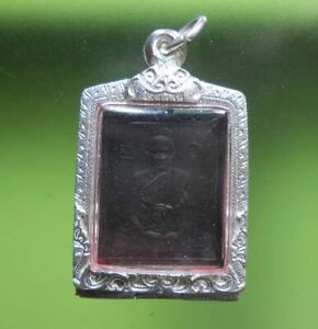 PERFECT! OLD BUDDHA AMULET LP PHUANG SIAM PENDANT VERY NICE !!!