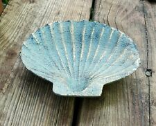 "5 3/8"" Shell Soap Candy Dish Nautical Home Office Decor Key Money Holder Dish"