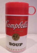 """Campbell's Soup<> """"Can-tainer"""" Thermos<> 1998 <> 11.5 ounces"""