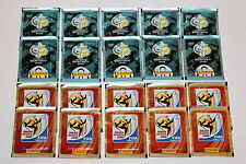 Panini SET je 10 TÜTEN PACKETS SOBRES WM WC Germany 2006 + South Africa 2010