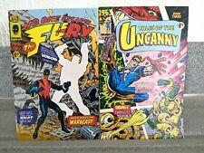 💎 1963 #2 + #3 die Wut und Geschichten des Unheimlichen (Bild 1993) Alan Moore 💎