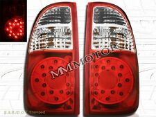 05 06 TOYOTA TUNDRA Tundra ACCESS Cab SR5 RED CLEAR LED TAIL LIGHTS