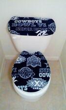 DALLAS COWBOYS SUPER BOWL EDITION Toilet Seat Cover Set Bathroom Accessories