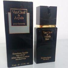 Van Cleef & Arpels POUR HOMME After-shave lotion 75ml original con su caja RARE