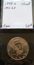 1998-D 50C KENNEDY HALF DOLLAR MINT UNCIRCULATED