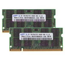 For Samsung 2GB 2X 1GB PC2-5300 DDR2-667Mhz 200Pin Laptop RAM Memory SODIMM 1.8V