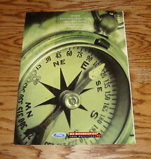 2001 Ford Escape Explorer Expedition Excursion Foldout Sales Brochure 01
