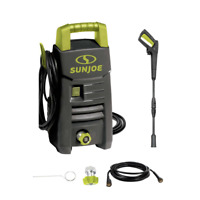 1600 PSI Max 1.45 GPM 11 Amp Cold Water Electric Pressure Washer Adjustable Wand