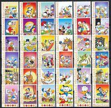 PERSOONLIJKE POSTZEGELS -ONTDEK DUCKSTAD - 36 STUK POSTFRIS (Compleet) Disney