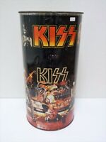 KISS Original Band KISS trash can trash can tin can