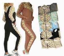 Damen Trainingsanzug 2tlg Hose+Jacke Sportjacke Sportanzug Hoodie  Hausanzug 140