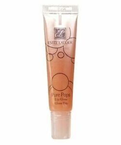LIP GLOSS NEUTRAL NUDE CLEAR SPARKLY SHIMMER LAUDER PURE POPS FIZZY PEAR 7ML NEW
