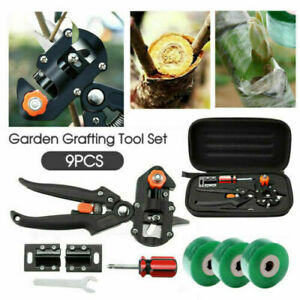 Garden Farming Pruning Shears Scissor Vaccination Fruit Tree Grafting Tools