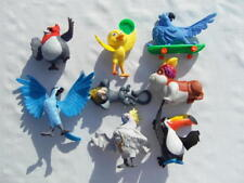 2011 MCDONALDS RIO THE MOVIE COMPLETE SET 8 FIGURES¤JEWEL¤PEDRO¤BLU¤RAFAEL