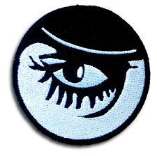 Clockwork Orange Alex Eye Eyeball Patch applique Embroidered Iron on Rockabilly