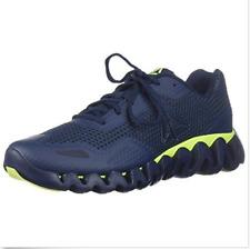Reebok Men's Zigpulse-SE Sneaker Sport - Coll. Navy/Black/Solar Yellow Size 14