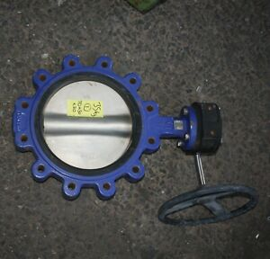 """BV 10"""" inch DN 250 250mm Lugged Wafer Butterfly Valve PN16 SS Disc EPDM seat"""