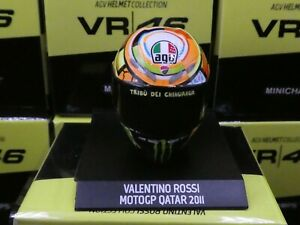 Minichamps 1:10 Valentino Rossi helmet MotoGP 2011 Qatar GP new 315110056