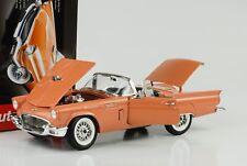 1957 Ford Thunderbird mit Hardtop Holiday Edition coral sand 1:18 Auto world