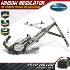 Front Left Power Window Regulator with Motor for Chevy Colorado GMC Canyon 04-12