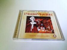 "CD ""VERDI UN BALLO IN MASCHERA"" 2CD PRECINTADO SEALED TEATRO ALLA SCALA CARRERAS"
