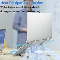 Tischhalter Aluminium Laptop Verstellbar Ständer Notebook Stand Halter Notebook