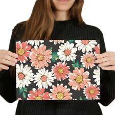 A4 - Daisy Floral Flowers Garden Poster 29.7X21cm280gsm #2436