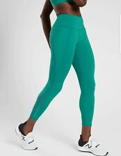 ATHLETA Lightning 7/8 Tight Leggings Size SMALL Billard Teal NWT