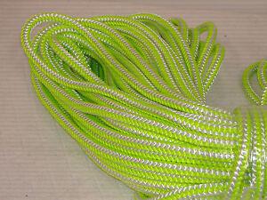 "7/16"" x 150 feet 12 strand polyester Blue Ox climbing rope"