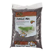 Zilla Reptile Terrarium Bedding Substrate Jungle Mix Moss & Fir, 24-Qt