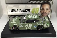 """2020 1/24 #48 Jimmie Johnson """"Ally Patriotic"""" Standard Paint 1 of 1692 SD SHIP"""