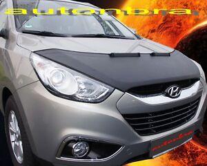 Bonnet BRA für Hyundai Tucson ix35 2009-2015 Steinschlagschutz Haubenbra Tuning