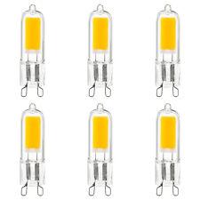 Paquete De 6 Bombillas LED Sunlite base G9, 2W (25W), 200 lúmenes igual, 5000K Super Blanco