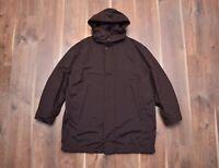 Ermenegildo Zegna Microtene 10000 Waterproof Lining Coat Jacket Size XL-2XL