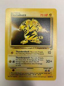 Electabuzz Base Set 2 Pokemon NM