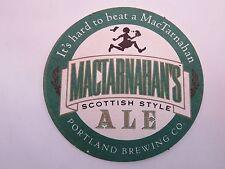 Beer Bar Coaster ~*~ It's Hard to Beat A MacTarnahan Scottish Ale ~ Portland, OR